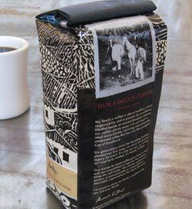 Nossa coffee packaging design by Engine 8
